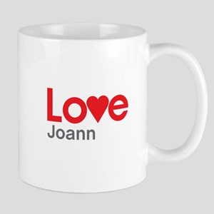 I Love Joann Mug