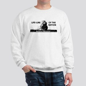 Life-Line Of the Nation 1940 Sweatshirt