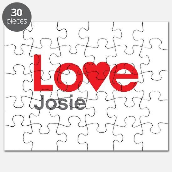 I Love Josie Puzzle