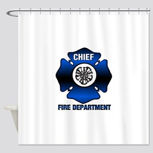 Fire Chief Shower Curtain