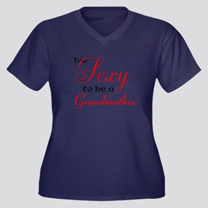 Sexy Grandmother Plus Size T-Shirt