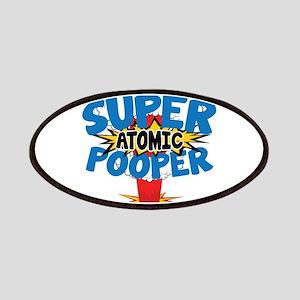 SUPER ATOMIC POOPER Patches