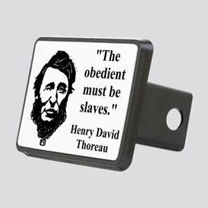 The Obedient Must Be Slaves - Thoreau Hitch Cover