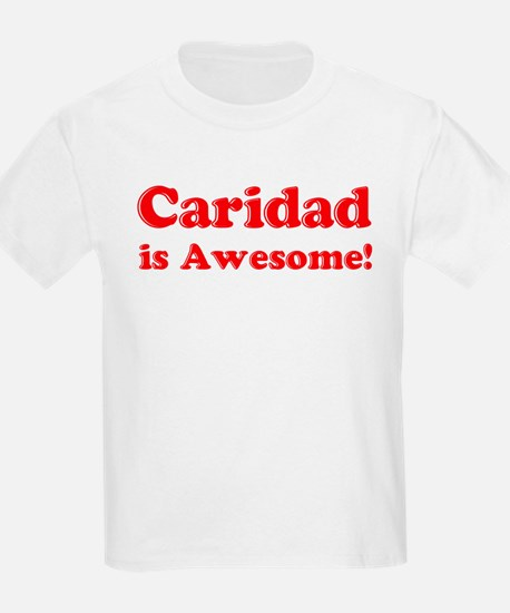 Caridad is Awesome Kids T-Shirt
