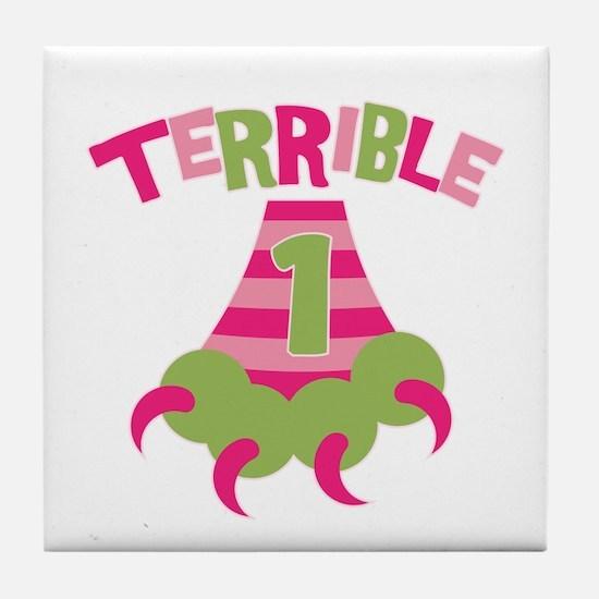 Terrible 1 Monster Tile Coaster