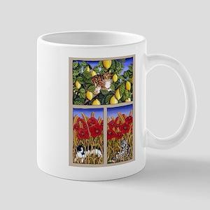 Poppy Cats Mug
