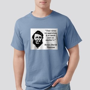 The Virtue We Appreciate - Thoreau Mens Comfort Co