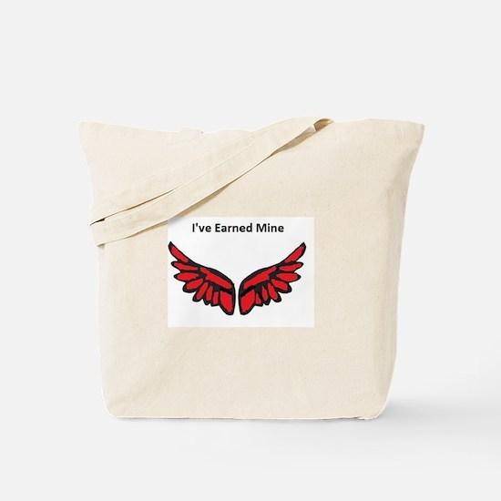 I've earned my redwings Tote Bag