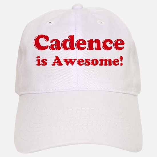 Cadence is Awesome Baseball Baseball Cap