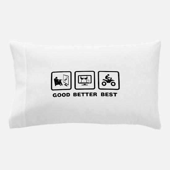 ATV Riding Pillow Case
