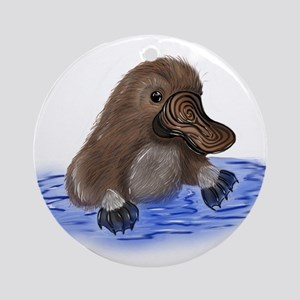 Platypus - ZooWhirlz Ornament (Round)