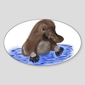 Platypus - ZooWhirlz Sticker
