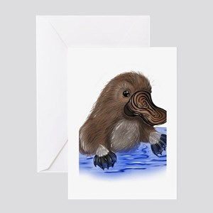 Platypus - ZooWhirlz Greeting Card