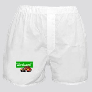 Woodward Red Hotrod Boxer Shorts