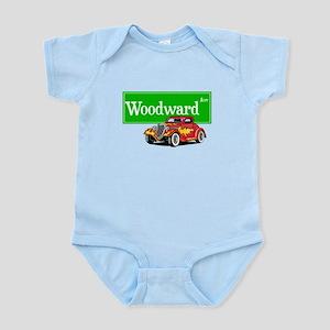 Woodward Red Hotrod Infant Bodysuit