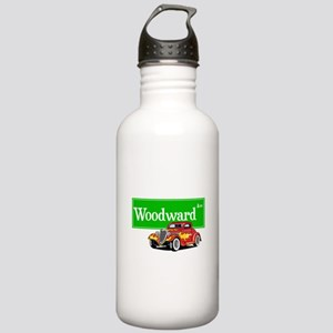 Woodward Red Hotrod Stainless Water Bottle 1.0L