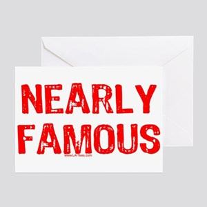 Almost famous greeting cards cafepress nearly famous greeting cards pk of 10 m4hsunfo