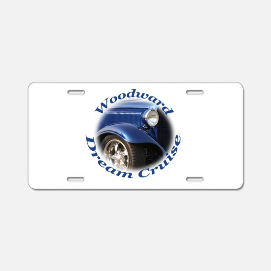 Woodward Dream Cruise Aluminum License Plate