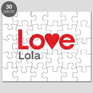 I Love Lola Puzzle