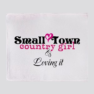 Small Town/ Throw Blanket