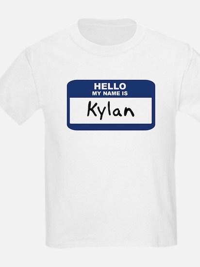 Hello: Kylan Kids T-Shirt