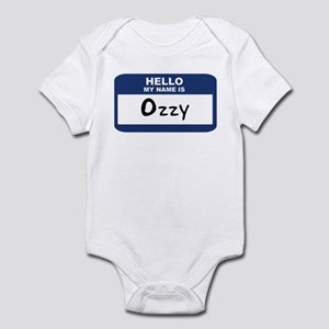 Hello: Ozzy Infant Bodysuit