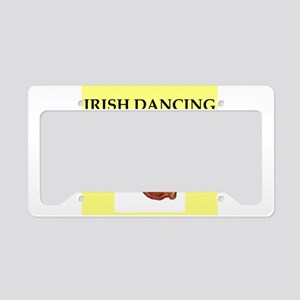 irish dancing License Plate Holder