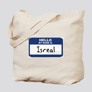 Hello: Isreal Tote Bag