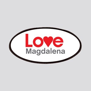 I Love Magdalena Patches