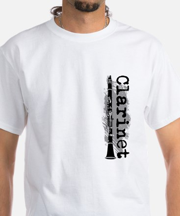 Clarinet Vertical T-Shirt