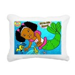 Ezo the Little Mermaid Rectangular Canvas Pillow