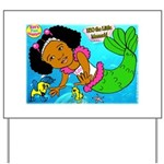 Ezo the Little Mermaid Yard Sign