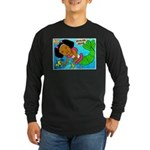 Ezo the Little Mermaid Long Sleeve Dark T-Shirt