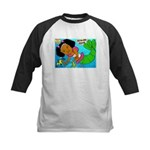 Ezo the Little Mermaid Kids Baseball Jersey