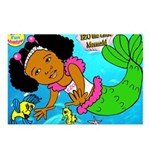 Ezo the Little Mermaid Postcards (Package of 8)