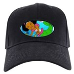 Ezo the Little Mermaid Black Cap