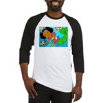 Ezo the Little Mermaid Baseball Jersey