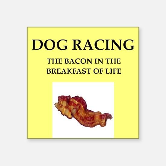 dog racing Sticker