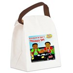 Azinga Boy Products Canvas Lunch Bag