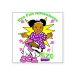 Ezo Fun Adventures Square Sticker 3