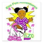 Ezo Fun Adventures Square Car Magnet 3