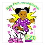 Ezo Fun Adventures Square Car Magnet 3