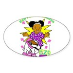 Ezo Fun Adventures Sticker (Oval 10 pk)