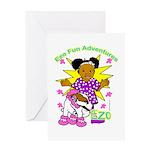Ezo Fun Adventures Greeting Card