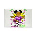 Ezo Fun Adventures Rectangle Magnet