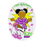Ezo Fun Adventures Ornament (Oval)