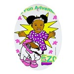 Ezo Fun Adventures Ornament (Oval)