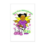 Ezo Fun Adventures Mini Poster Print