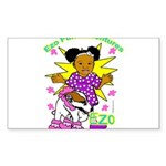 Ezo Fun Adventures Sticker (Rectangle)