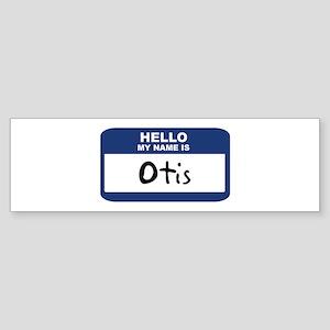 Hello: Otis Bumper Sticker